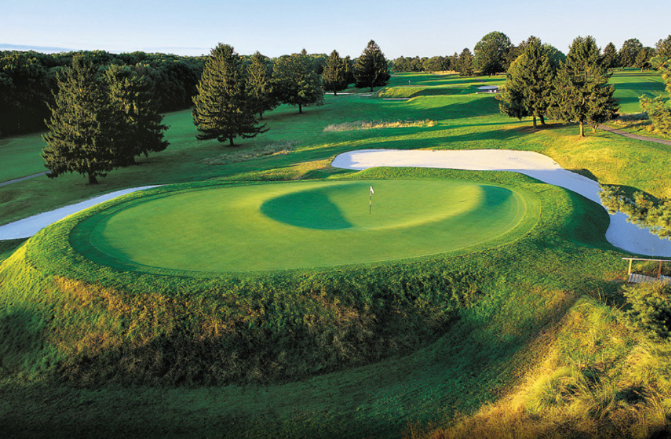 The severe horseshoe at Forsgate C.C. Photo Credit: Forsgate C.C.