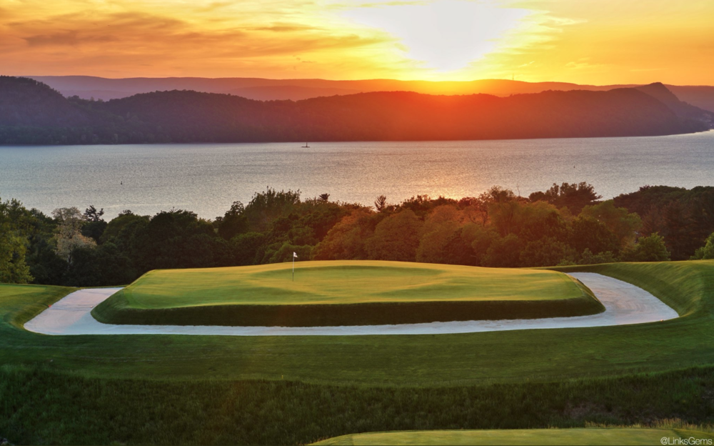 The 16th and its new thumbprint at Sleepy Hollow.  Photo Credit: Jon Cavalier   @linksgems