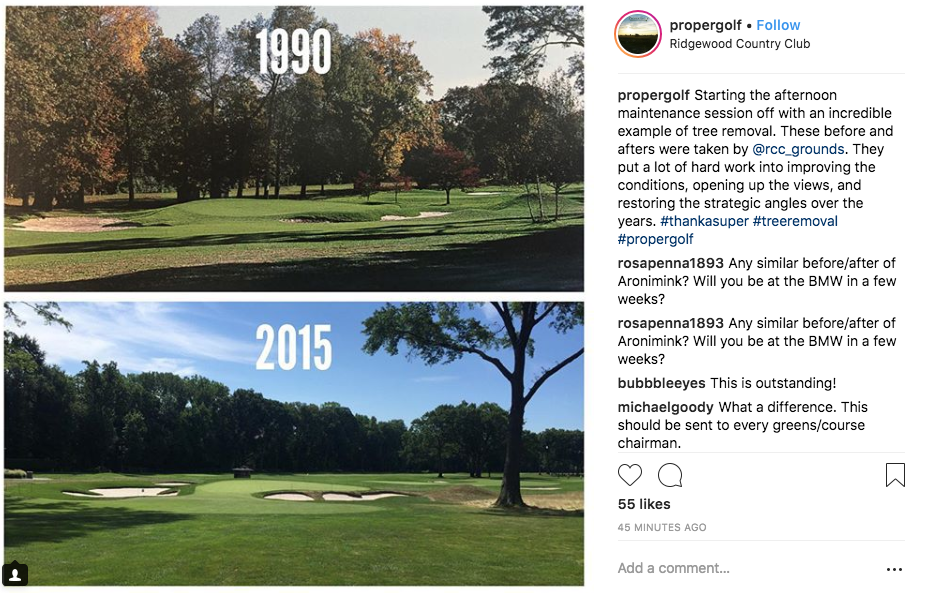 The restoration work at Ridgewood by Hanse Golf Design and Jaeger Kovich.