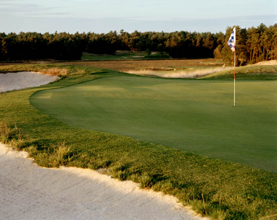 The 4th green at Southers Marsh Credit: Southers Marsh