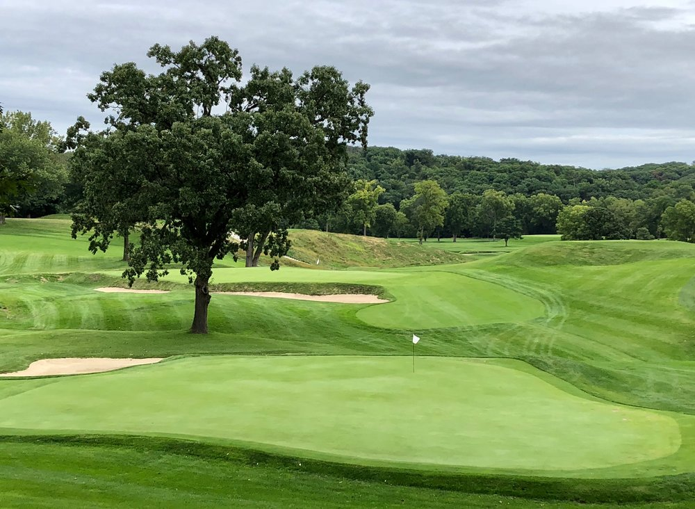 The 4th and 5th greens at CRCC