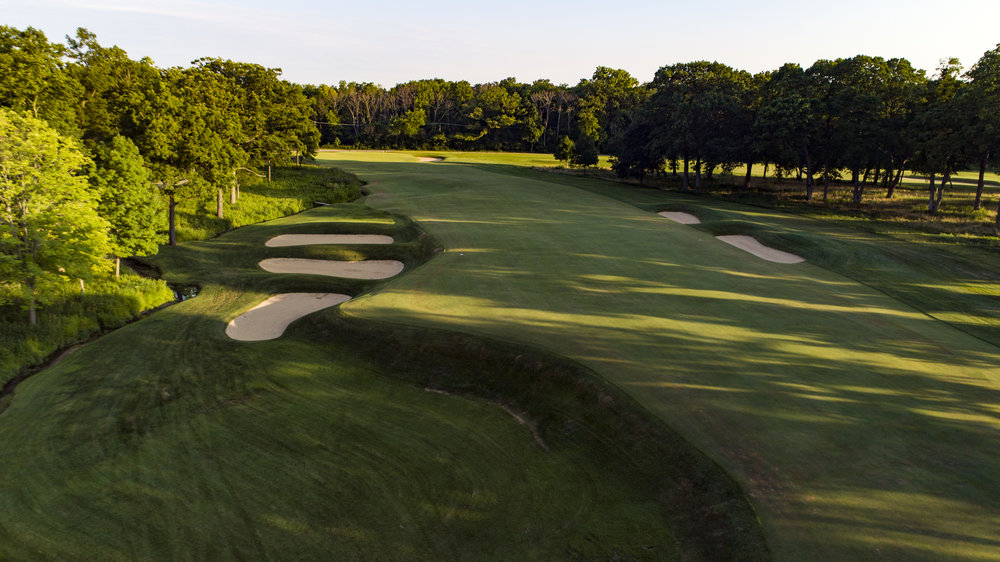 A great short cape hole, #2 at Shoreacres.