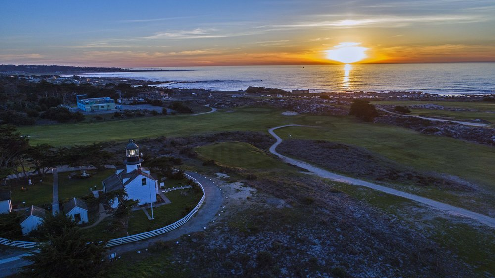 Point Pinos Lighthouse and the views at Pacific Grove