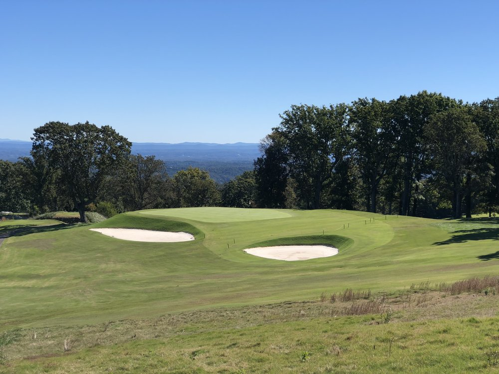 Raynor's redan at Lookout Mountain.