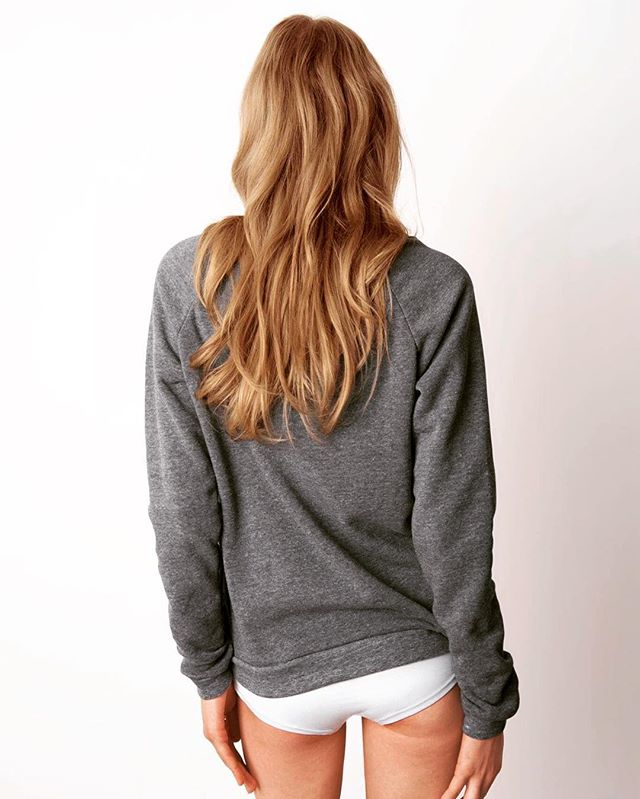 Eco Sexy shoulder grey #iamnotavirgin