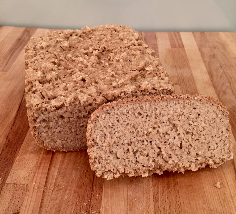 Duona kepta duonkepėje pagal receptą ant pakuotės