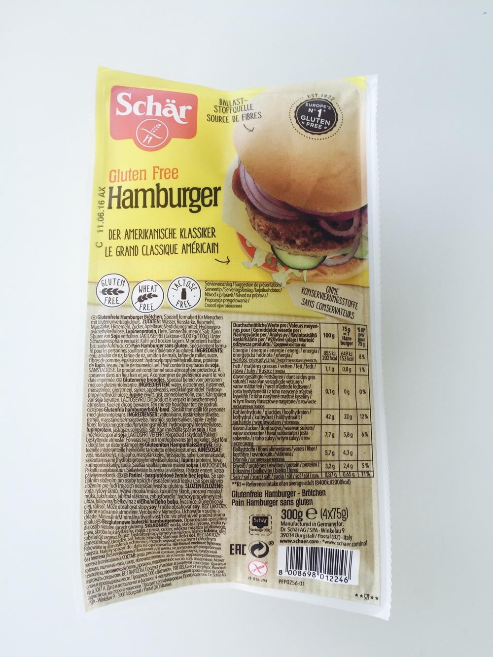 Bandelės hamburgeriams be gliuteno ir be laktozės
