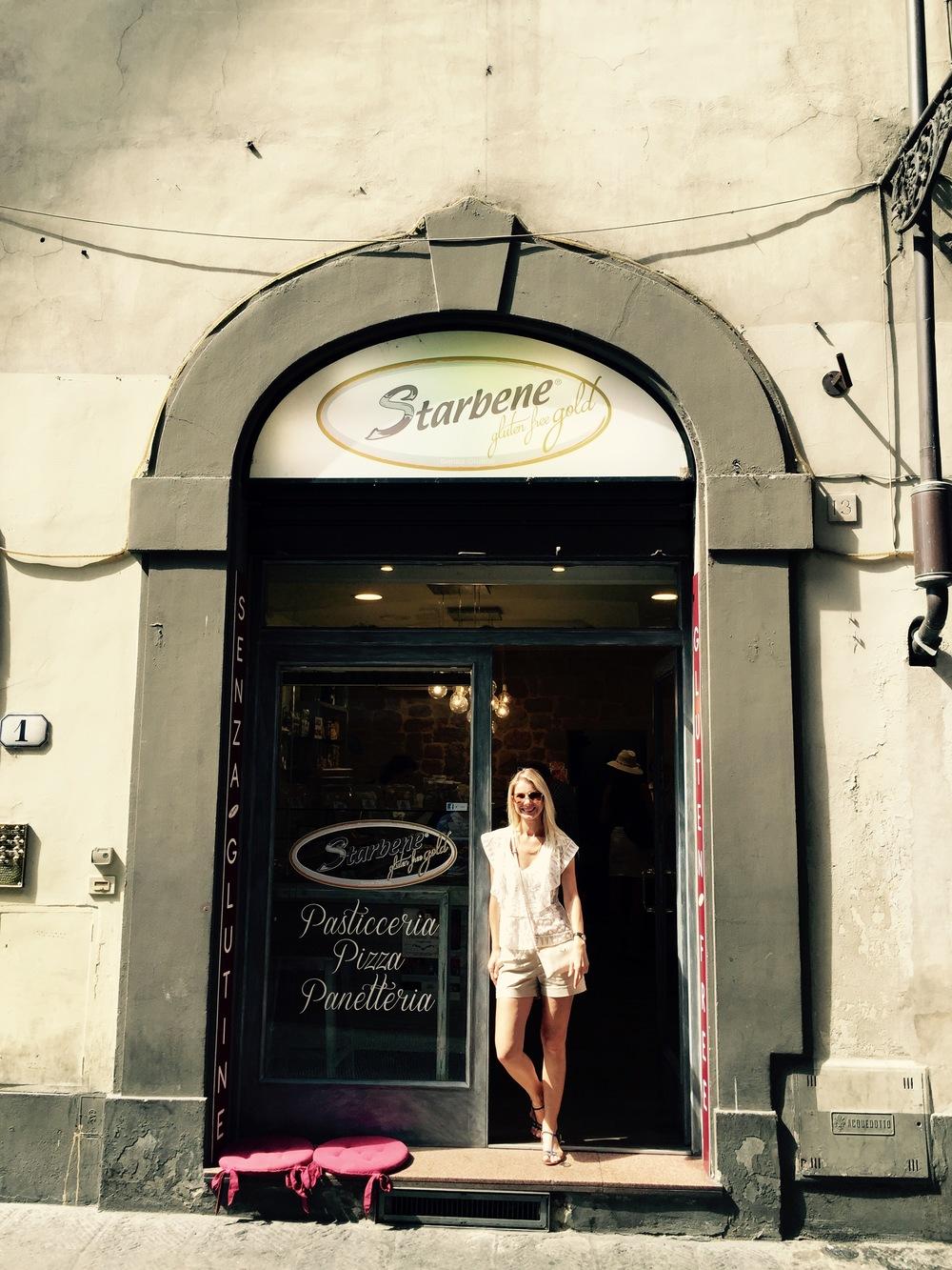 Kepinių be gliuteno kepyklėlė Florencijoje