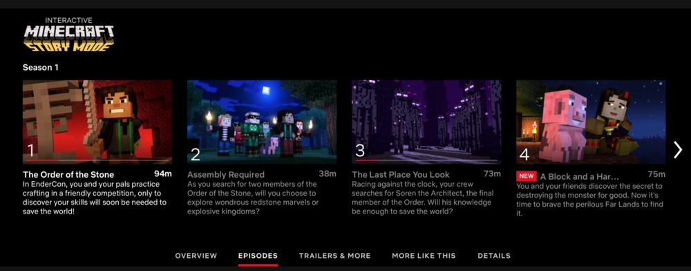 Minecraft Netflix