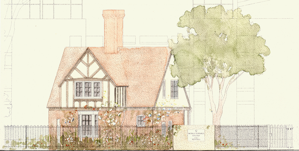 Cambridge: Grove Lodge at Murray Edwards College Illustrator: Paul Vonberg