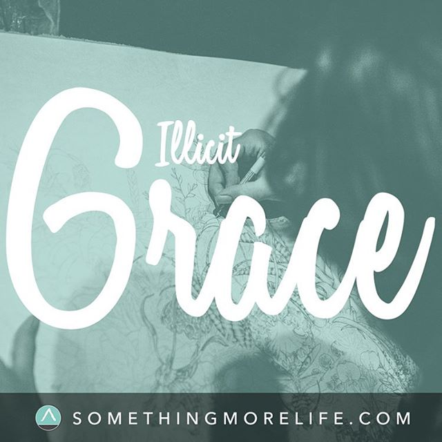 """Religion is always more concerned about respectability and reputation, but the person of grace made of himself no reputation. Reputation is merely what others think you are, not who you really are."" Check out our latest blog. Link is in the bio. #somethingmorelife #sml #illicitgrace #grace #jesus #blog"