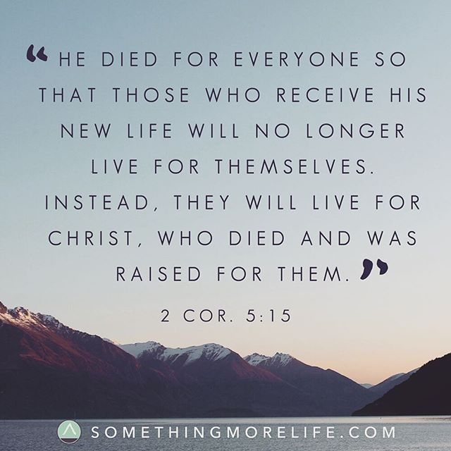 """He didn't just die for a few. He didn't just die for the good ones. He didn't just die for the people who have it all together. Jesus died for everyone, and all we have to do is accept him."" Check out link in the bio. #somethingmorelife #gospel #simplegospel #blog #jesus #grace #love"
