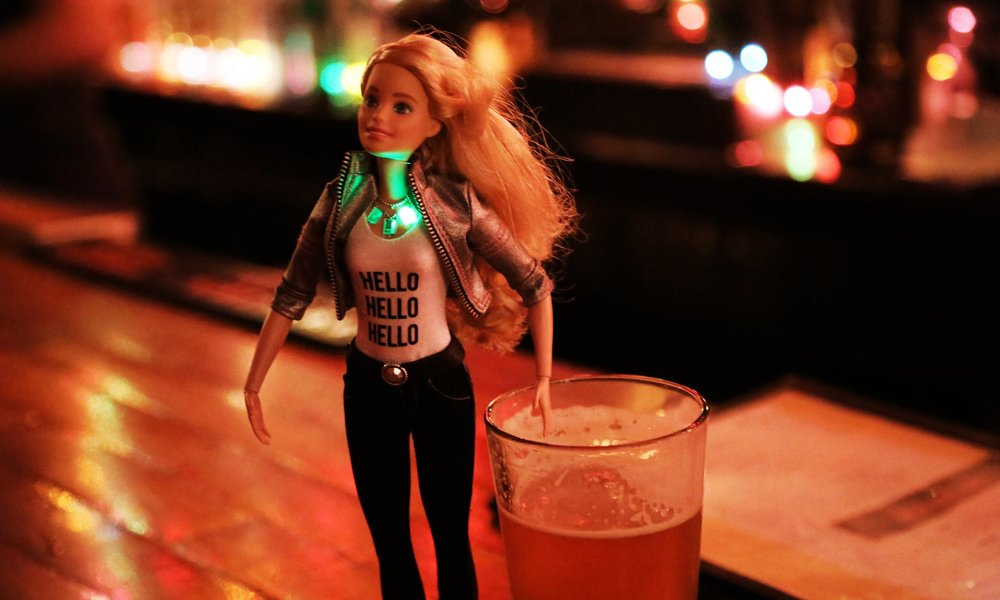 MY WEEK WITH ROBO BARBIE