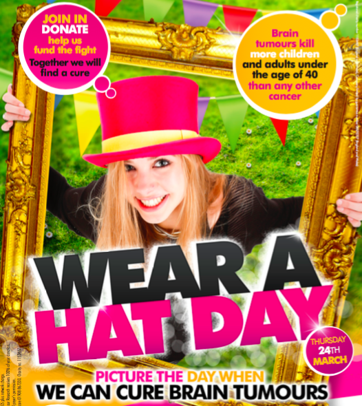 Official 2016 Wear a Hat Day Poster