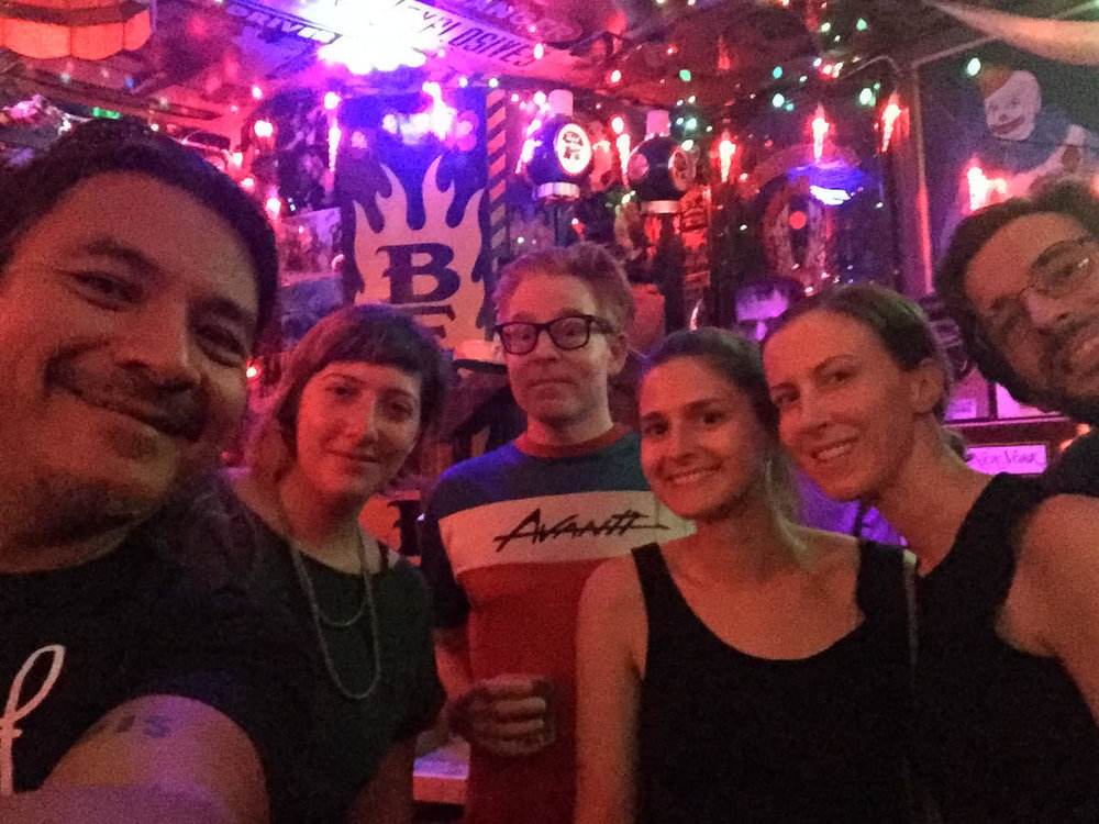Summer get together at the unofficial Art & Law Program cave, the infamous metal bar called Duff's NYC. Love seeing such sweet, creative and smart faces, who bring so much to the Program. (July 2017).