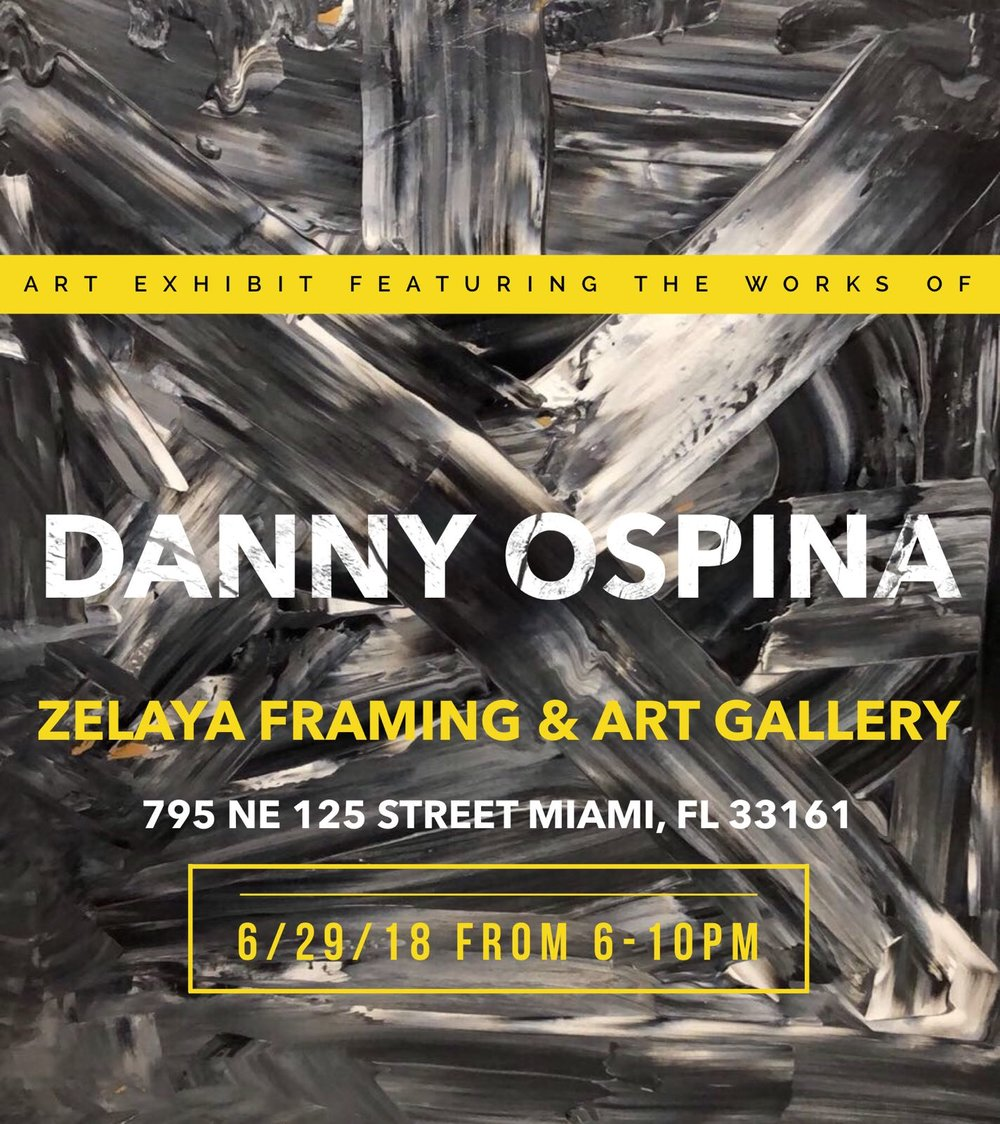 ART EXHIBIT FEATURING THE CUBAN AMERICAN ARTIST, DANNY OSPINA ...