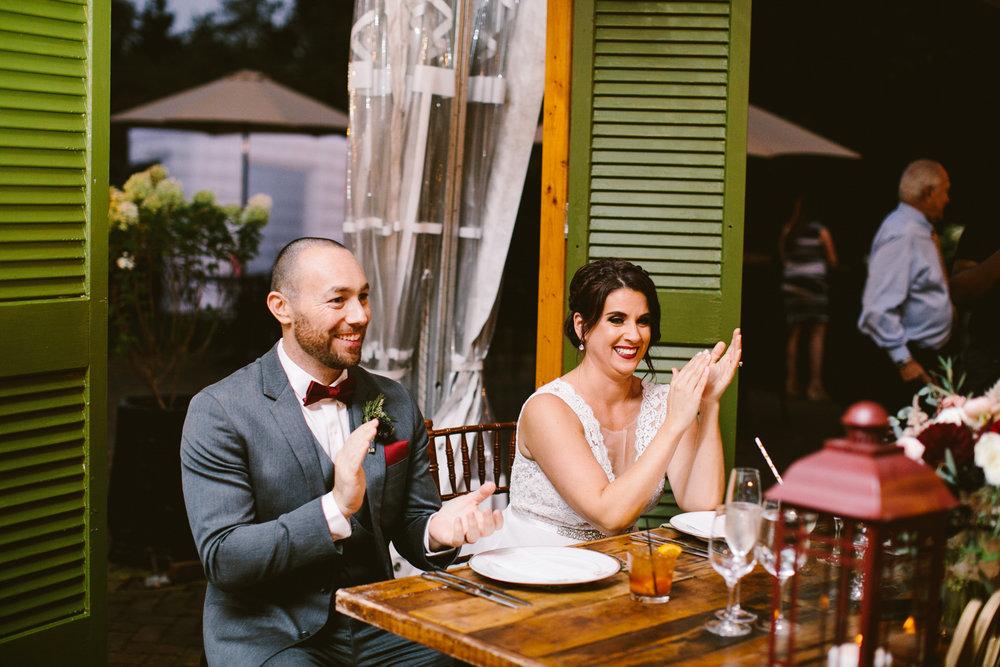 The Inn at Fernbook Farms wedding