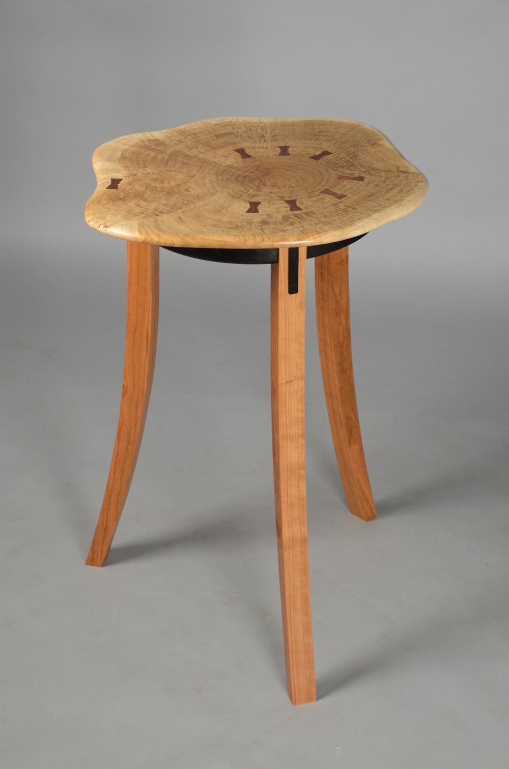 Burl Showcase Table