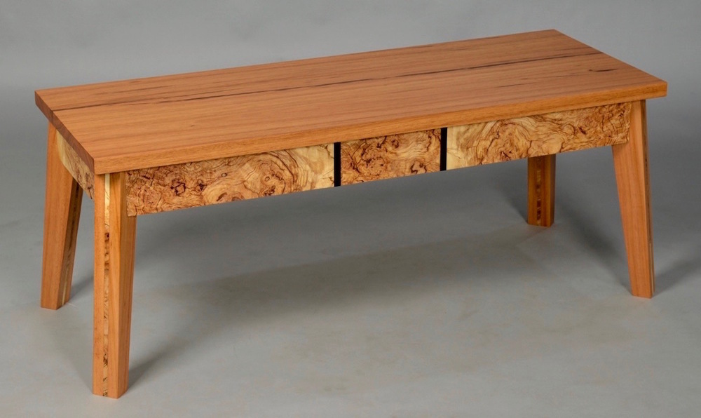 Burl Coffee Table