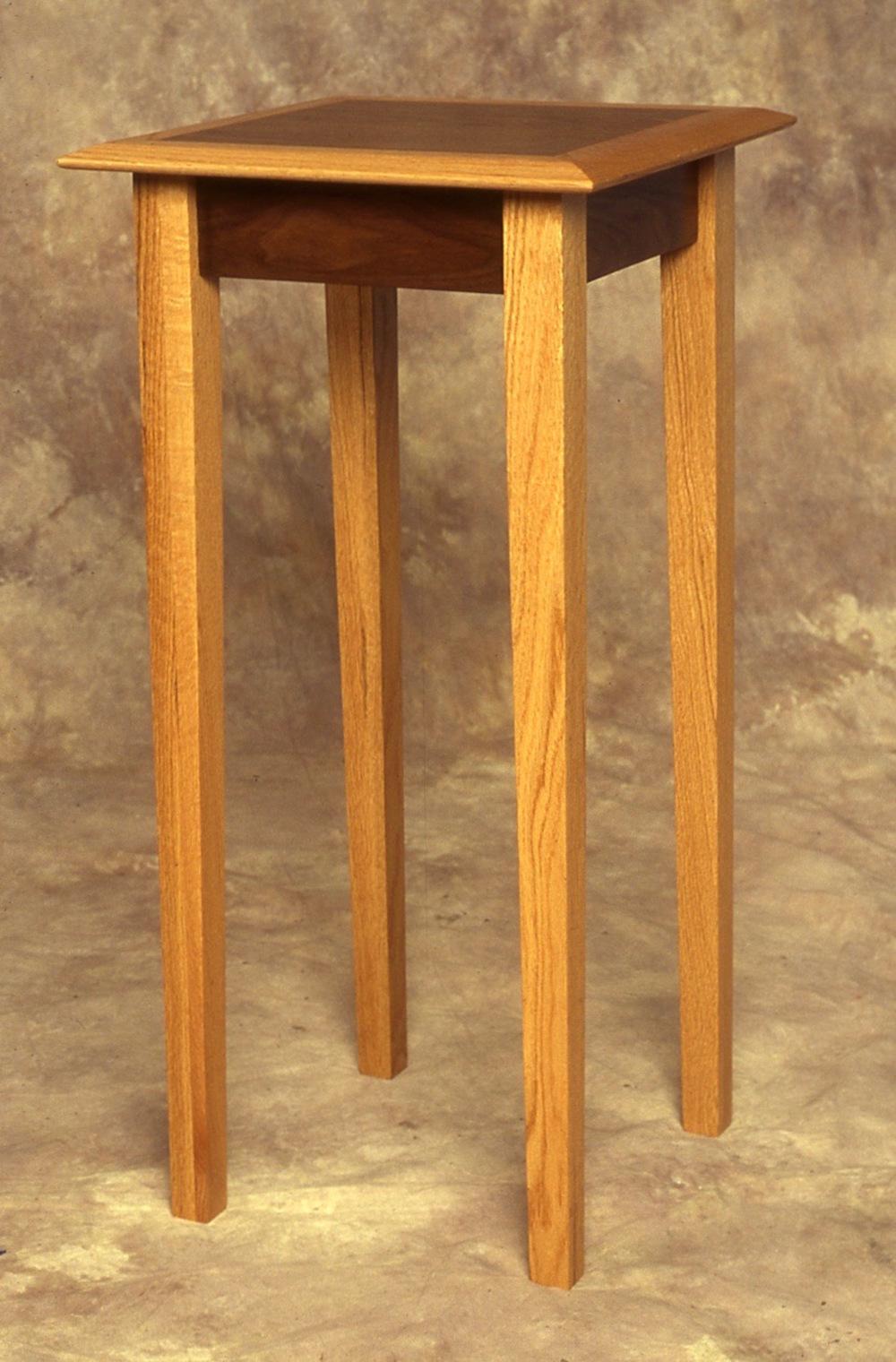 Oak Showcase Table