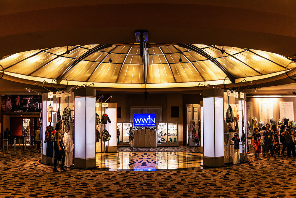 Entrance to Women's Wear in Nevada (WWIN) at Rio All-Suites Hotel, Las Veags
