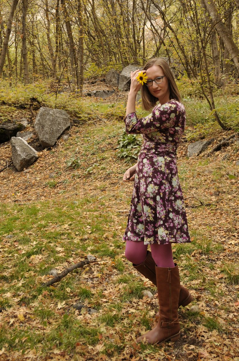 Lady Skater Dress by Kitschy Coo - Hacked for Nursing