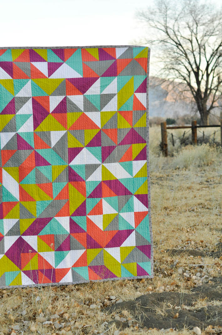 Just Tri It! Quilt for Pellon Projects