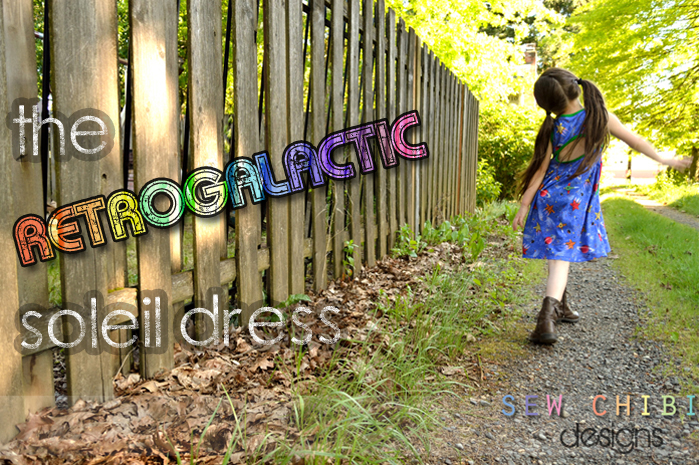 Soleil Dress Sewing Pattern by Selvage Designs
