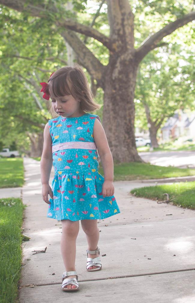 Matinee Dress by Jennuine Design, Sewn by Lauren Dahl