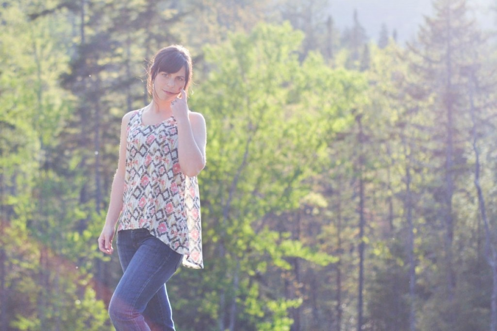 Foxglove Tank Sewing Pattern by Selvage Designs