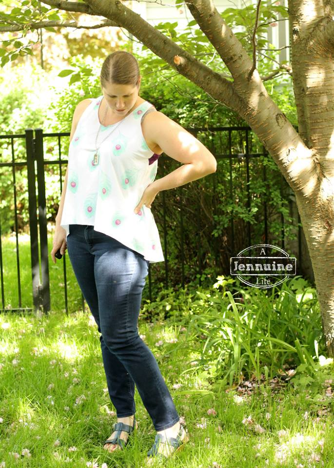FOXGLOVE Tank by Selvage Designs