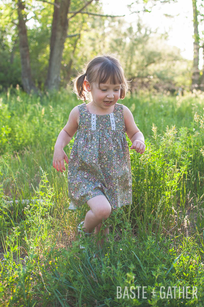 Bohemian Babydoll Sewing Pattern by Elegance & Elephants
