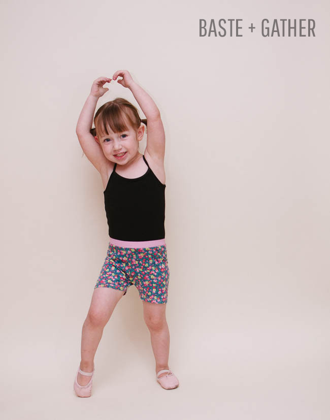 Summer Shorties | Free Sewing Pattern by Selvage Designs for BASTE + GATHER