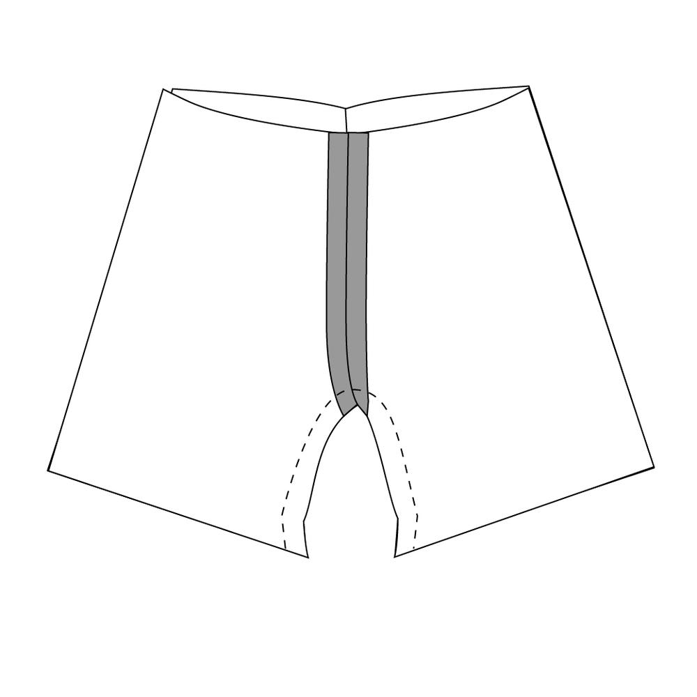 Verão Shorties    Padrão de costura livre por Selvage Projetos para BASTE + REUNIR