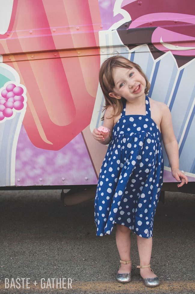 Free Sewing Pattern: Cupcake Dress