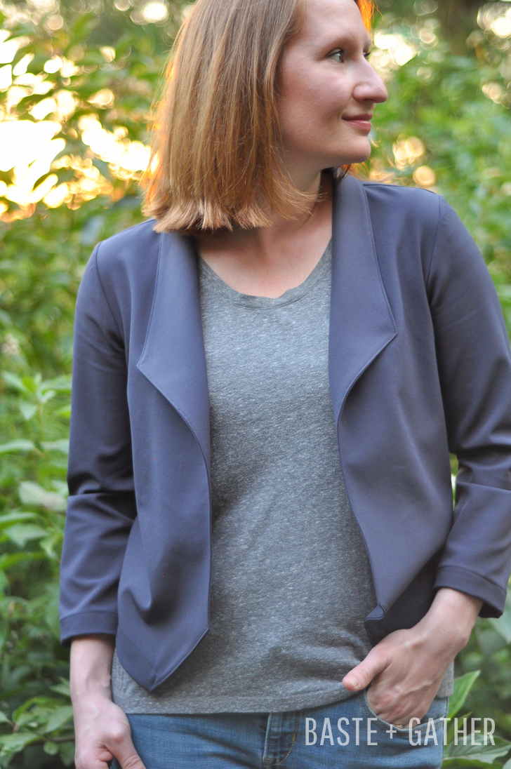 morris blazer grainline studio sewing pattern