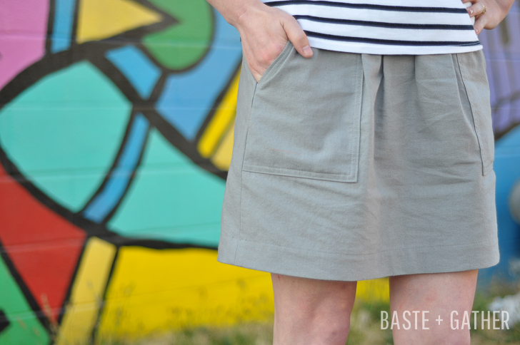 cali faye basics pocket skirt-1