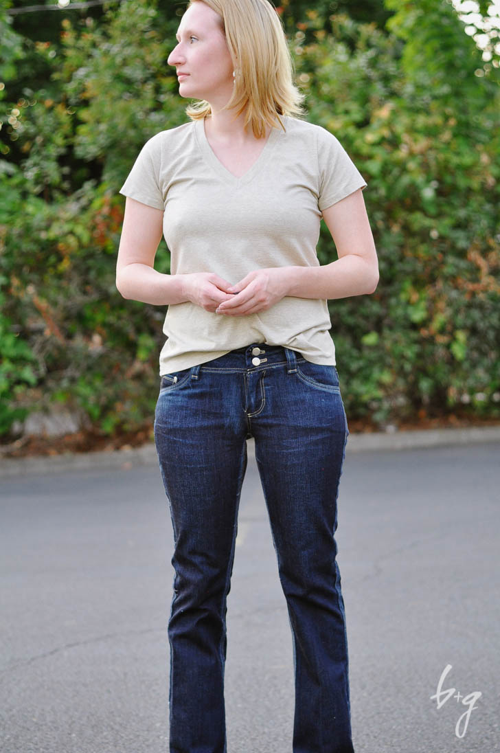 Distressed Angel Jeans - Sewing Pattern by Angela Wolf