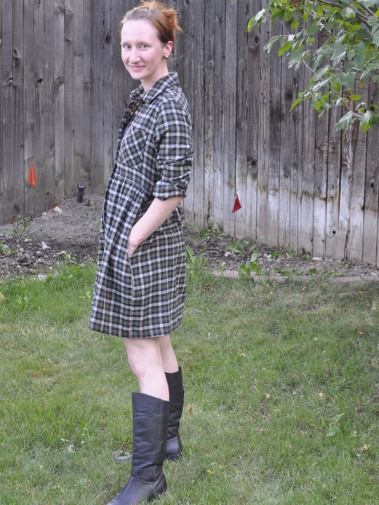 flannel dress 3