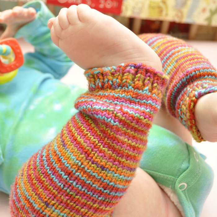 Free Knitting Pattern: Baby Frog Legs — Baste + Gather