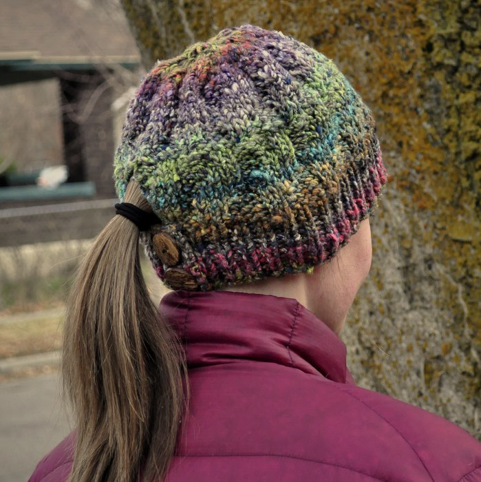 Knitting Pattern Japanese Dream Hat Baste Gather