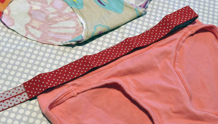 Make Your Own Upcycled Undies Baste Gather