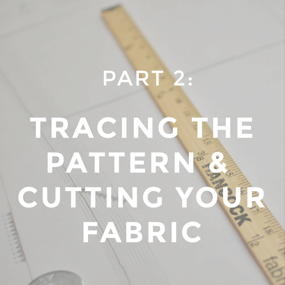 Jeans Sew Along Part 2 Tracing The Pattern Cutting Your Fabric