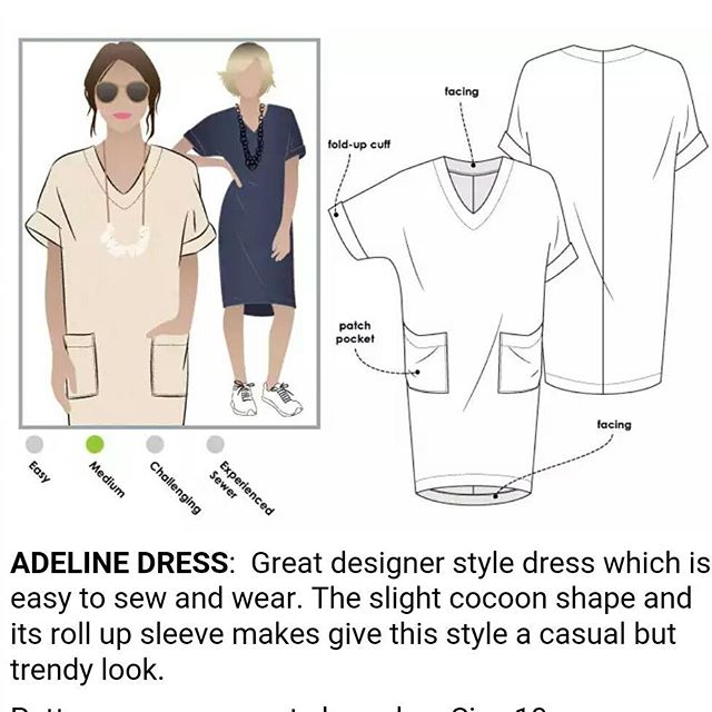 Who else is as excited about the @stylearc #adelinedress as I am?! My pattern shipped today! #sewing @stylearcwardrobe #stylearc #isew