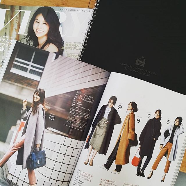 Japanese fashion magazines are my jam. Have you ever seen VERY? It is THE BEST! And I love how they have so many moms-in-action in their photos.