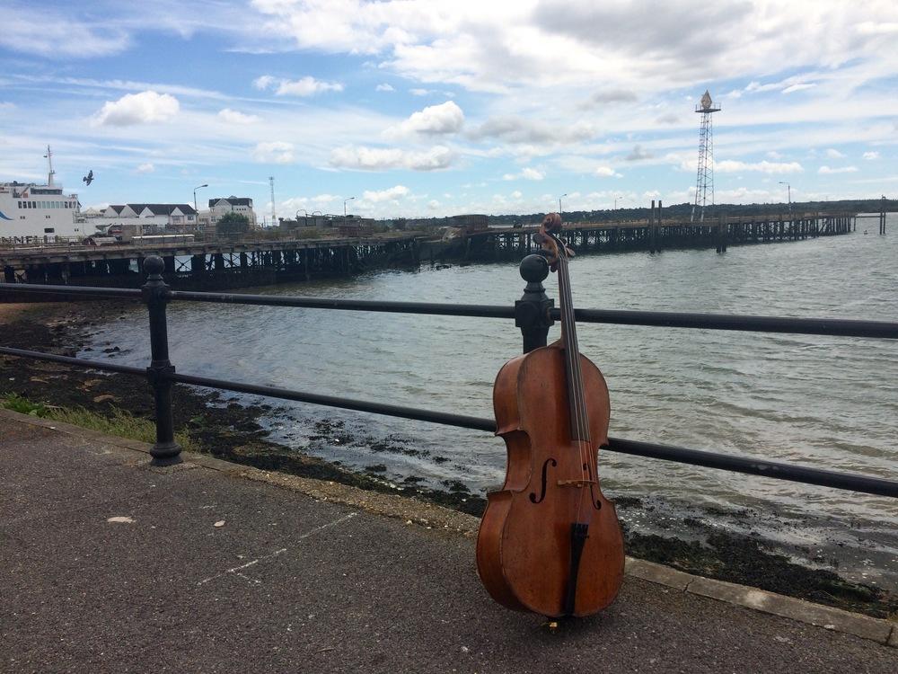 Southampton's derelict pier