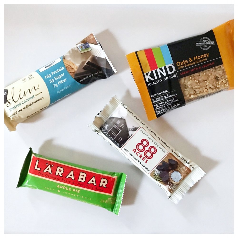 My Top Snack Bars.JPG
