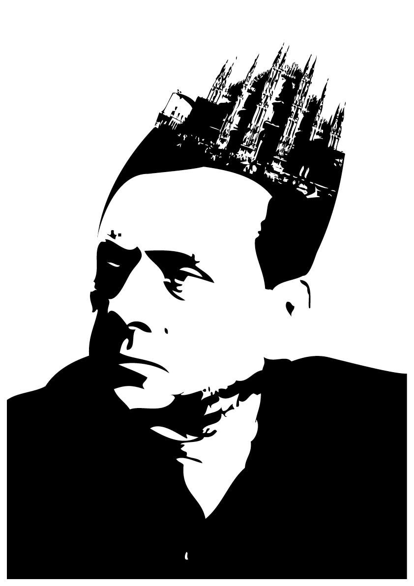 Dr Berlusconi ghöört, so meint ein, in Kultur mol instruiert,   Und hett als Noochhilf, im vo noochem mol dr Doom vor Auge gfiert.   Sehr sympathisch fändes mir wenn sich so eins zum andre fiegt,   Und bald dr Mörgeli e Minarett in d Schnuure griegt.