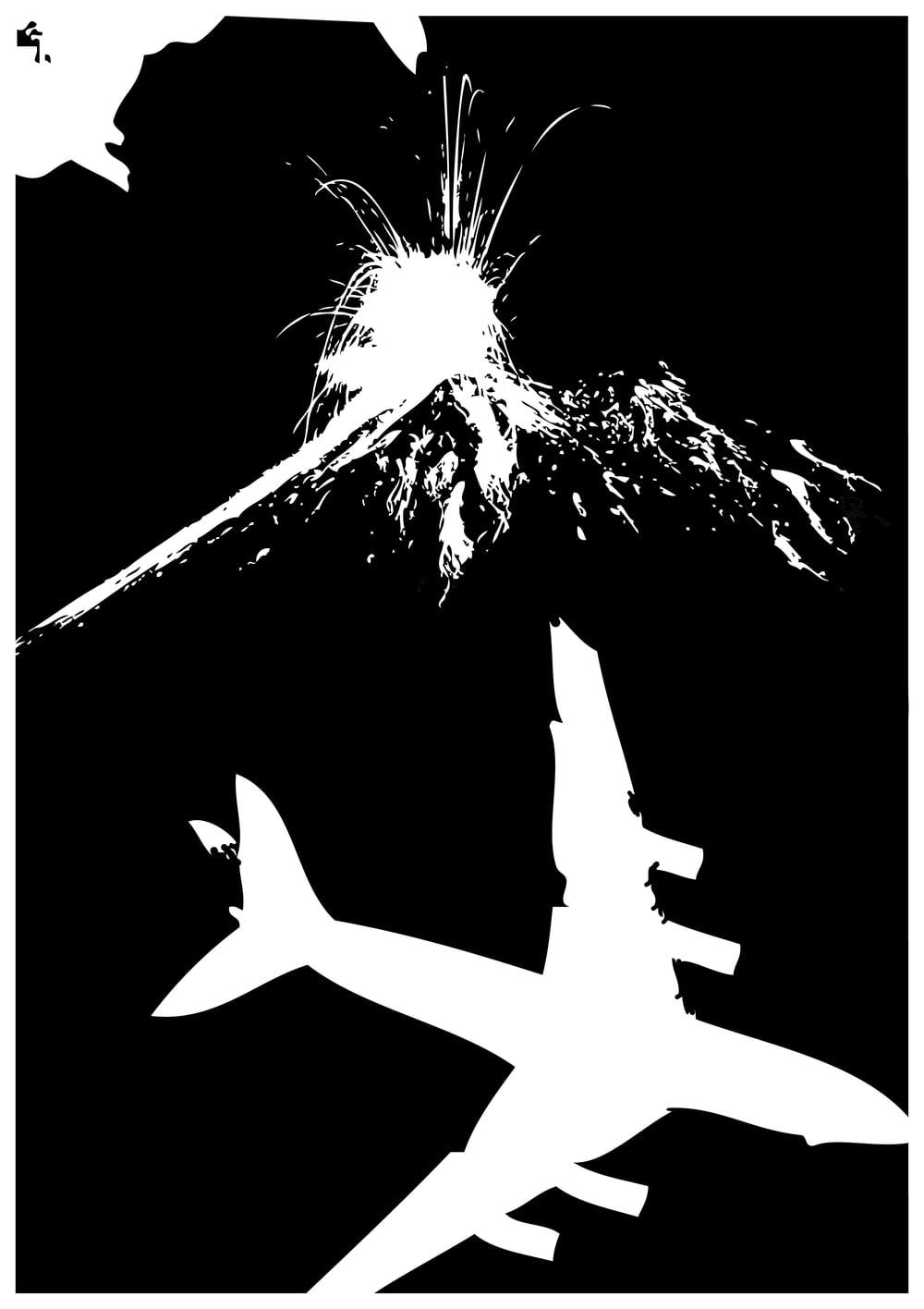 Wenn si fümf Stund im Flieger sitze und dä doch am Bode blybt,   Isch es dr Eyjafjallajökull wo si Äschespiili drybt.   Au dr Gass foot afo brodle und klopft wietig uff e Disch,   Ä heigi gmergt dass dä Vulkan nit Fümoar-Mitglied isch.