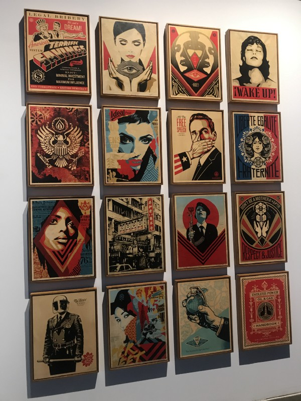 Damaged, a Solo Show by Shepard Fairey, Library Street Collective, Los Angeles